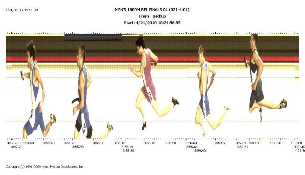 BOYS'S 1600M REL FINALS 01 2010-04-21 021-4-01